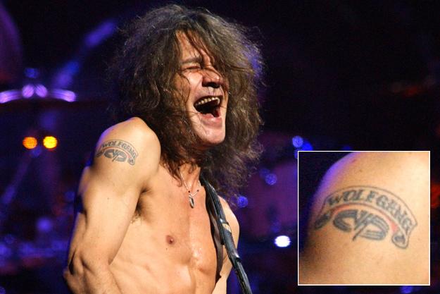 Tatuajes con historia musical Eddie1tattoo